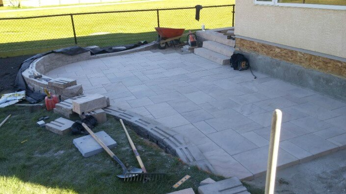 Patio landscaping Dublin